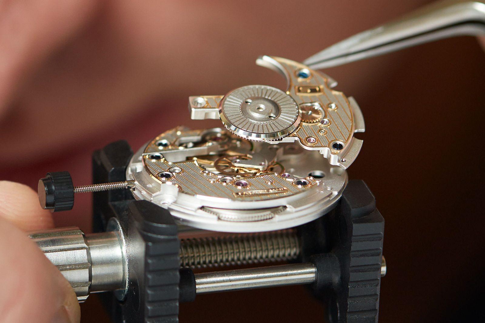 Lehmann Uhren Montage