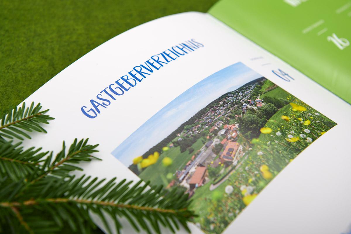 Unterkirnach Vöhrenbach Gastgeberverzeichnis Titelbild