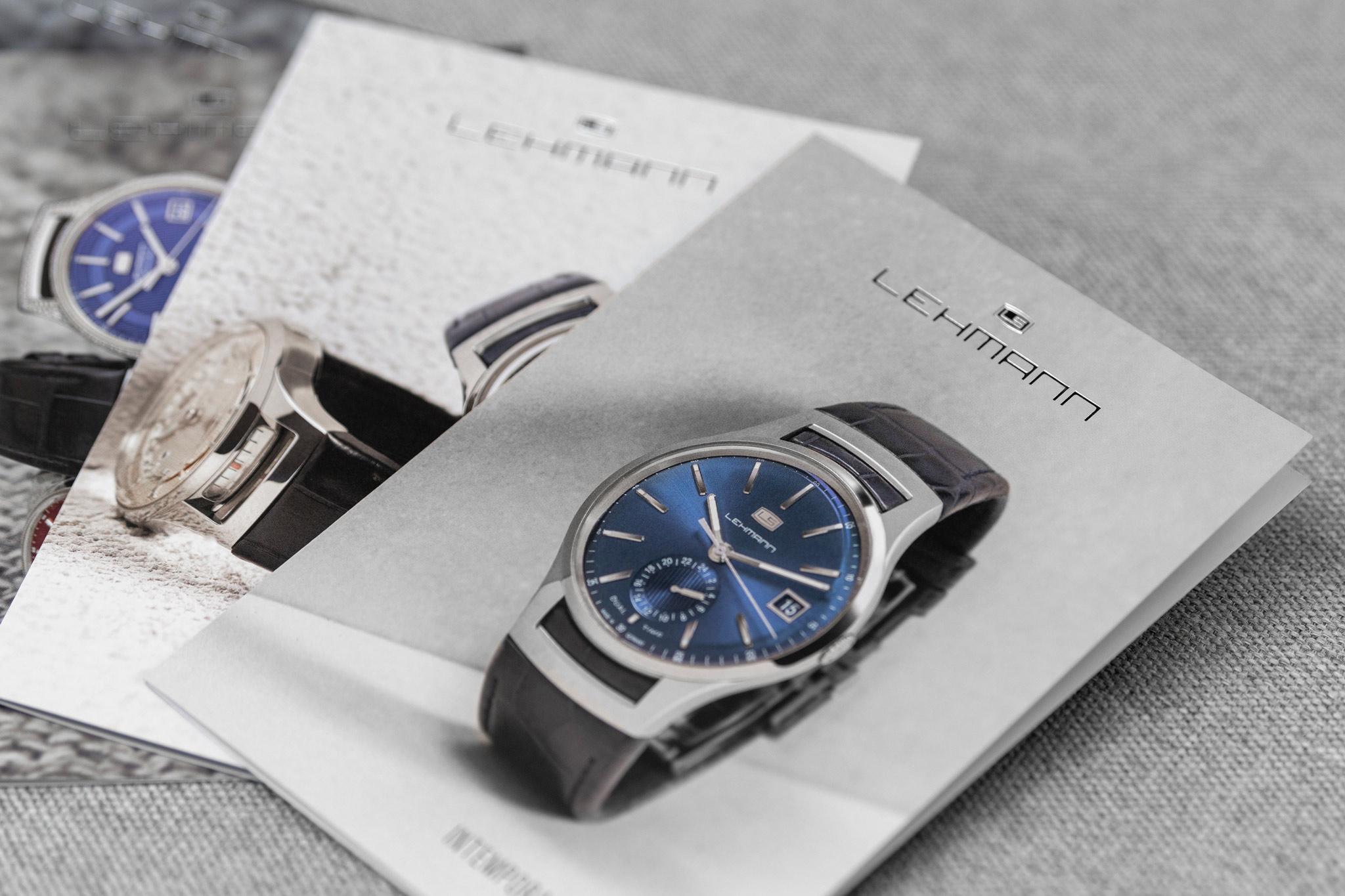 Lehmann Uhren Postkarten