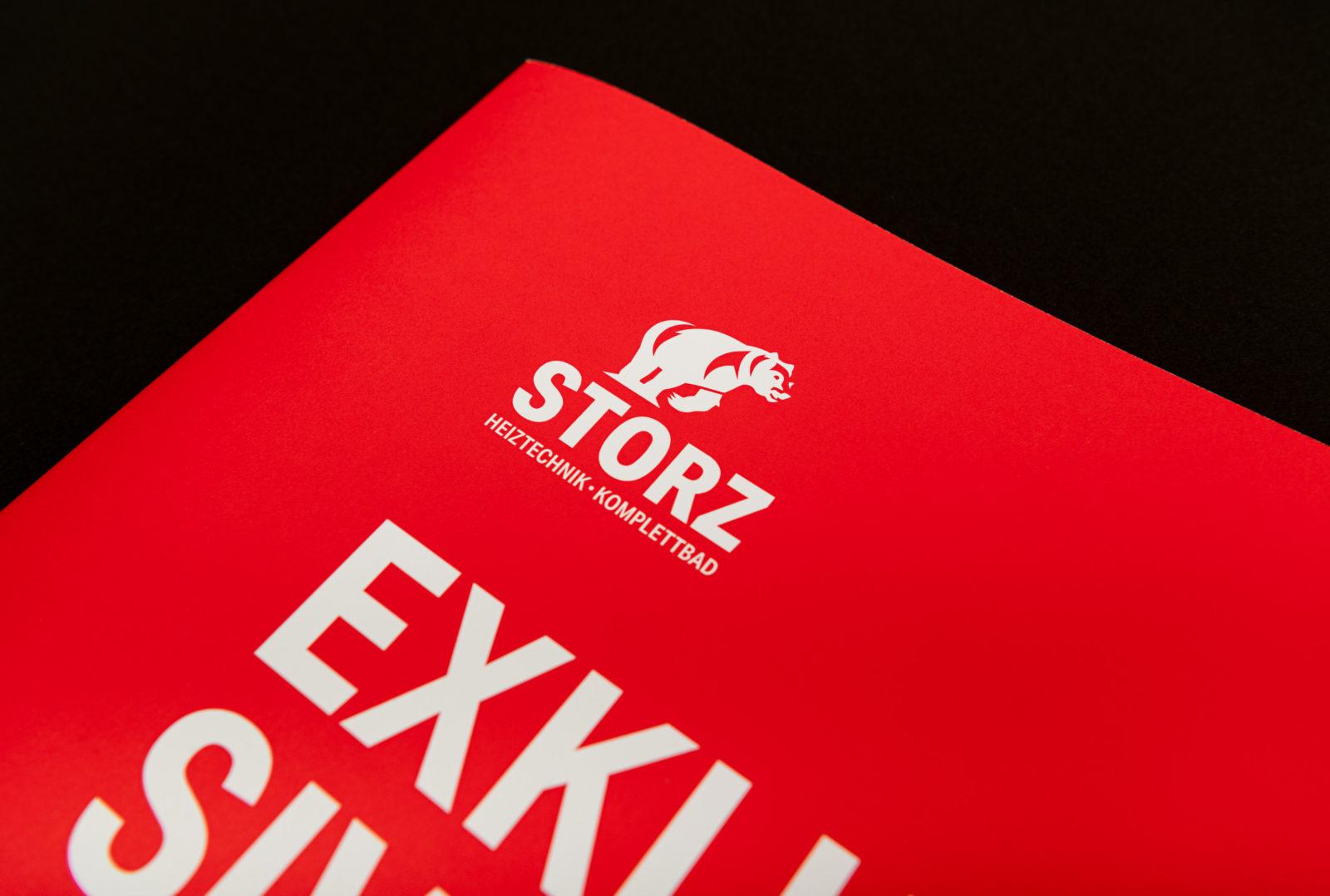 Titelseite Storz Heiztechnik Broschüre