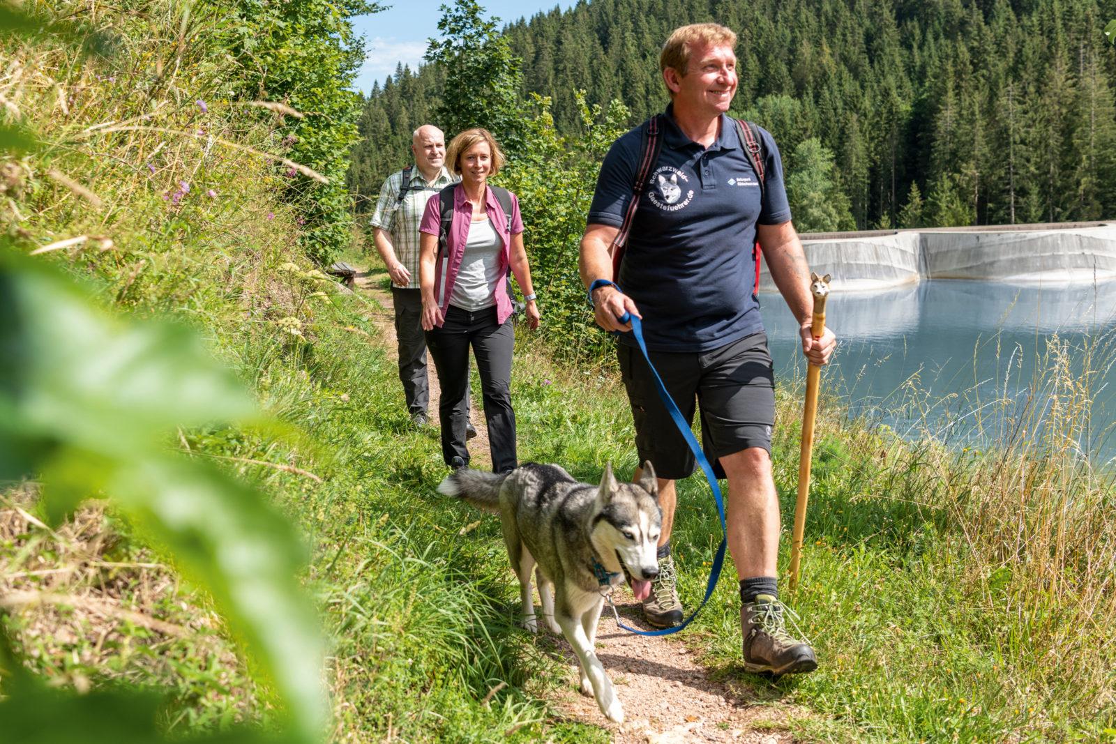 Vöhrenbach Linachtalsperre Wandern